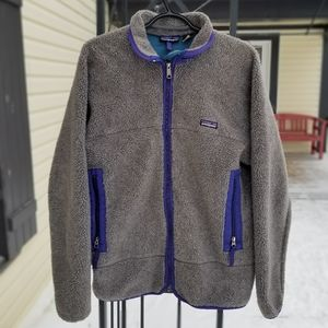Large Men's Patagonia lined Sweater